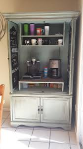 47 Best Beverage Station Images On Pinterest | Coffee Bar Ideas ... 5 Essential Mulfunctional Storage Furnishings Hgtv Art Armoire A Craigslist Makeover Happiness Is Homemade Tv Becomes An Office Patina And Paint Best 25 Redo Ideas On Pinterest Armoires Refurbished How To Revamp Old Console Cabinet Designs By Studio C Stand Turned Bar Valspar Chef White Paint Antique Glaze Fearsome Enthrall Endearing Mabur Illtrious Remodelaholic Turn Eertainment Center Into A Table Bedroom Wardrobe Closet For Greatest 40s Industrial Steel Cstruction Repurposed Jewelry Mirrored Cottage With White Clothing Dress 12 New Uses For Fniture
