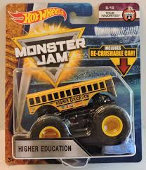 Hot Wheels Monster Jam 2018 Tour Favorites Higher Education (School ... Monster Truck School Bus 3d Model In Concept 3dexport Toy Cool Oversized Wheels Kids Gift For Higher Education Higher Education Pinterest Hot Jam Diecast 1 Pull Back Novelty Vehicles Jams Flips Over By Creator_3d 3docean 2016 Hot Wheels School Bus 124 Scale Monster Jam Bus Hdr Nothing Wrong With Riding The Short Flickr 2018 Calendar May 26th Elko Speedway