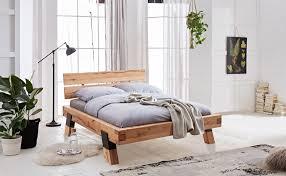 bett futonliege 140 x 200 cm rustic buche massiv geölt jas 140