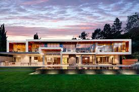100 Modern Houses Los Angeles Ultramodern Hillside JetSet Estate