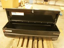 Weather Guard 664 5 01 Black Aluminum Truck Bed Tool Storage Chest ...