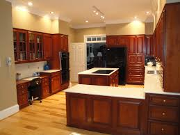 Kitchen Wall Paint Colors With Cherry Cabinets by Walnut Wood Natural Lasalle Door Kitchen Paint Colors With Cherry