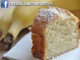 bananen joghurt kuchen mit erdnussbutter fitness rezepte
