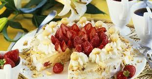 erdbeer nuss torte