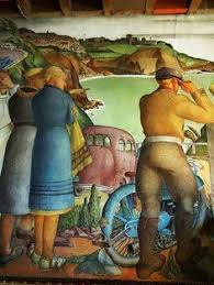 Coit Tower Murals Prints coit tower mural california agricultural industry by gordon