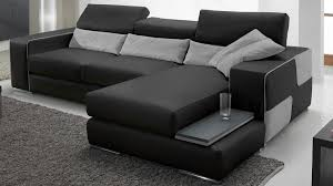 canap d angle cuir noir canape angle cuir canap d angle panoramique cuir marron places h