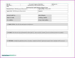 Strategic Management Report Template Design Ideas New Of It Audit Word