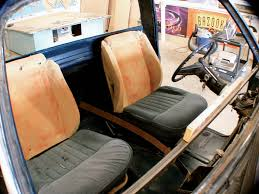 1985 Chevrolet C10 Custom Interior Buildup - Bucket Seats - Truckin ... 19882013 Gm Truck Custom Seat Brackets Atomic Fp Chevrolet Chevy C10 Custom Pickup Truck American Truckamerican Seatsaver Cover Shane Burk Glass Neoprene Car And Covers Alaska Leather News Upholstery Options For 731987 Trucks Where Can I Buy A Hot Rod Style Bench Seat Ford Vanlife How Do Add Seats To Full Size Cargo Van Bikerumor Amazoncom Durafit 12013 F2f550 Crew 1985 Chevrolet C10 Interior Buildup Bucket Seats Truckin Coverking Genuine Customfit With Gun Holder Fresh Tactical Ballistic