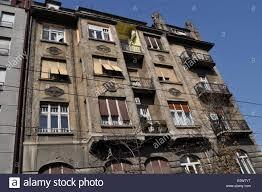 100 Belgrade Apartment Old Block Stock Photo 74928444 Alamy
