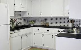 black and white backsplash tile photos backsplash