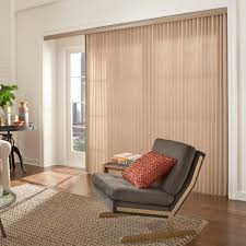 White Popular Sliding Glass Door Curtain Ideas Simple Treatment