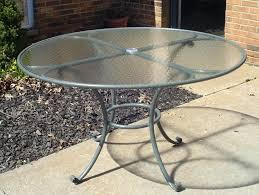 Kirkland Brand Patio Furniture by Patio Ideas Round White Patio Table With Umbrella Hole Kirkland