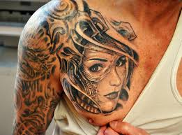 Shoulder Tattoo For Men Design