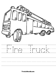 31 Fire Truck Coloring Pages 1507 Via Azcoloring