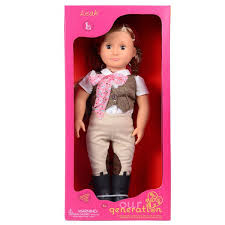 OG RIDING DOLL W TWEED VEST LEAH