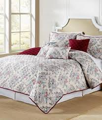 Oversized King Quilts Paloma Crimson Luxury King Quilt 105x120