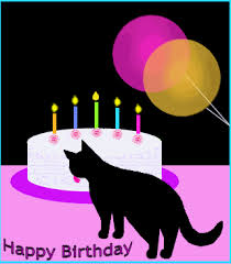 Happy Birthday from your kitty Cat