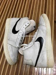 Separation Shoes SALE 15 Vintage 80s Nike Blazer Hi Top Basketball F847005605