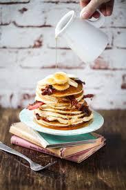chocolate chip pancakes rezept zucker zimt und liebe