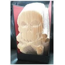 Skull Crossbones Book Folding Pattern