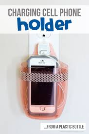 Charging Cell Phone Holder From A Plastic Bottle