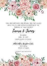 Invitations With Photos Payson Wedding