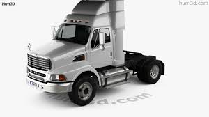 100 Ford Sterling Truck 360 View Of A9500 Tractor 2006 3D Model Hum3D