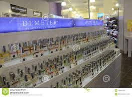 100 Duane Nyc Demeter Fragrance Library Display NYC Editorial Photo Image Of