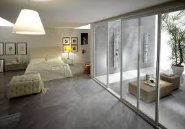carrelage dans une chambre carrelage gris mural et de sol 55 idées intérieur et extérieur
