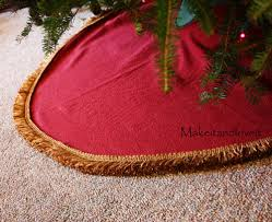 72 Inch Christmas Tree Skirts by Christmas Tree Skirt Make It And Love It