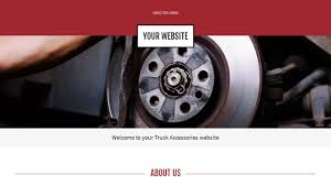 Truck Accessories Website Templates | GoDaddy