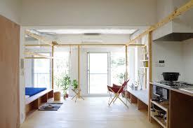 100 Simple Living Homes Frame House By Peak Studio Defines Rooms With Beams
