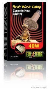 exo terra 40 watt ceramic bulb for sale