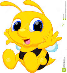 Royalty Free Stock Photo Download Cute Baby Bee