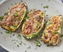 cuisiner la ricotta courgettes farcies à la ricotta et aux lardons recette de