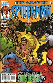 Amazing Spider Man Vol 2 12 Story 1 Dec 1999 SMURF 453500 SM Title Arc Part Of Another Return The Sinister Six