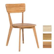standard furniture stuhl noci 1 massivholzstuhl mit rückenlehne für esszimmer oder küche in drei holzausführungen
