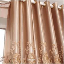Noise Reducing Curtains Uk by Soundproof Curtains Coffee Damask Jacquard And Embroidery Vintage