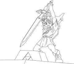 Zelda Coloring Pages To Print Princess