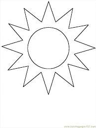 Shapes Coloring Pages 48 Page
