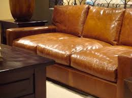 elegant camel color leather sofa oasis darrin leather jcpenney