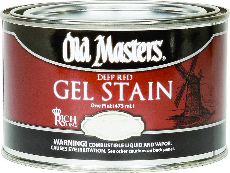 Old Masters 81408 Gel Stain - Spanish Oak, 1 Pint