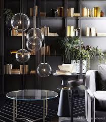 großhandel 1 licht klarglas globus dimmbar g4 led pendelleuchten esszimmer pendelleuchte gold chrom led hängele led droplight renewal 94 21