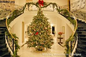 Holiday Home Staging And Decorating In Los Angeles Entry Christmas Trees