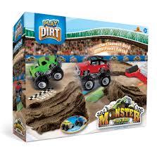 100 Kids Monster Trucks Play Dirt Truck Rally Toy Car Racing