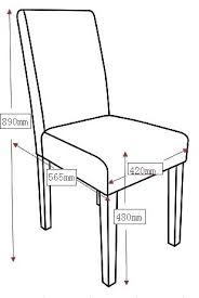 Dining Chair Seat Height Standard Fancy About Remodel Fabulous
