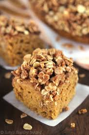 Pumpkin Desserts Easy Healthy by Slow Cooker Pumpkin Streusel Coffee Cake Amy U0027s Healthy Baking
