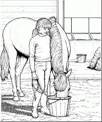 Extraordinary Printable Horse Coloring Pages With And Spirit