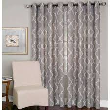 Geometric Pattern Curtains Canada by Geometric Curtains U0026 Drapes Window Treatments The Home Depot
