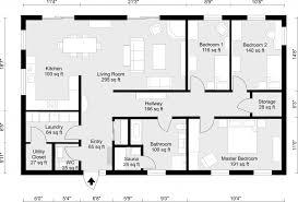 Floor Plan Template Free by 2d Floor Plans Roomsketcher